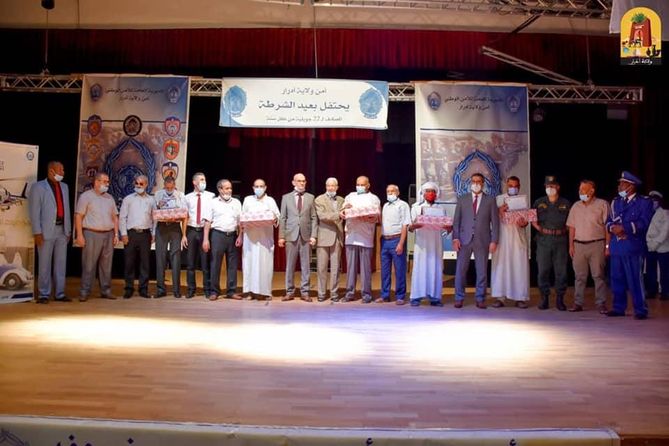 الإحتفال بعيد الشرطة الجزائرية